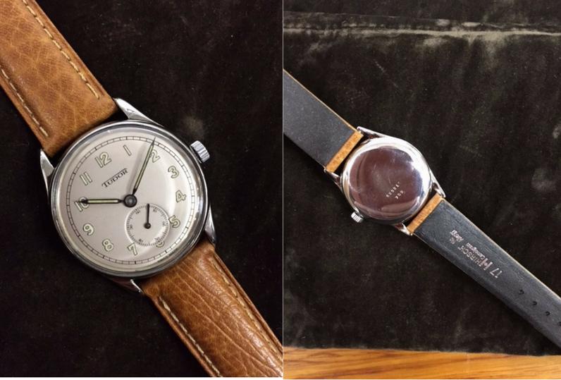 Tudor watch after restoration