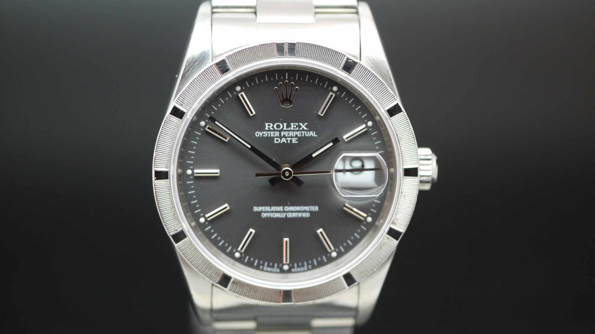 Rolex Oyster Perpetual Date 15210 Circa 1995 James Ross