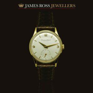 International Watch Company 18ct Gold. Circa 1956