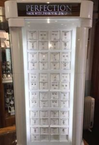Perfection jewellery display cabinet