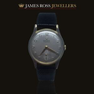 9ct gold Rolex Precision circa 1960