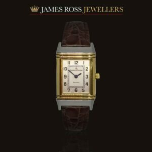 Ladies Jaeger LeCoultre Reverso 18ct gold and stainless steel