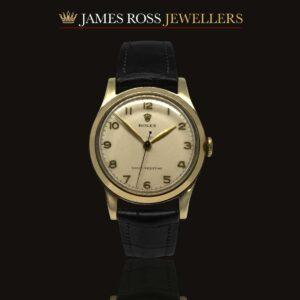 9ct Gold Rolex Hand Wind Mechanical Circa: 1953