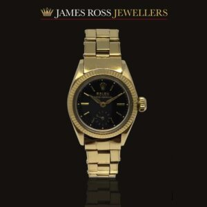 18ct Gold Ladies Rolex Oyster Perpetual. Circa: 1945-46