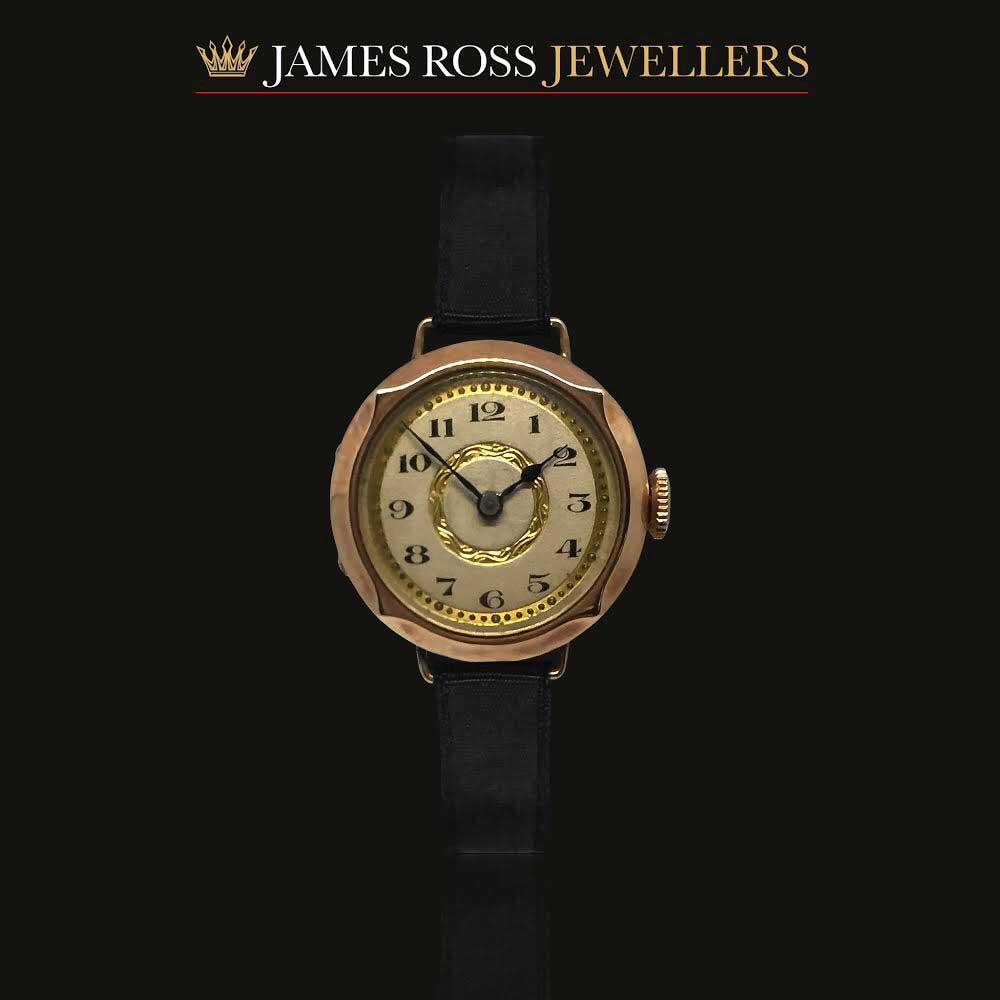9ct Rose Gold Ladies Vintage Watch Circa 1931